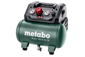 SPRĘŻARKA KOMPRESOR BASIC 160-6 W OF bezolejowa METABO